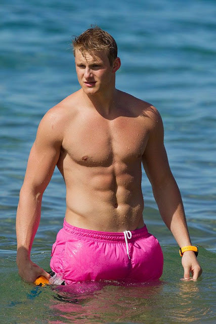 Alexander Ludwig Workout and Diet