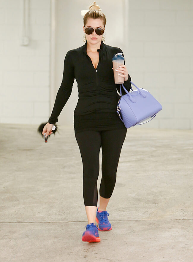 Khloe Kardashian Workout and Diet | Celebrity Weight | Page 2