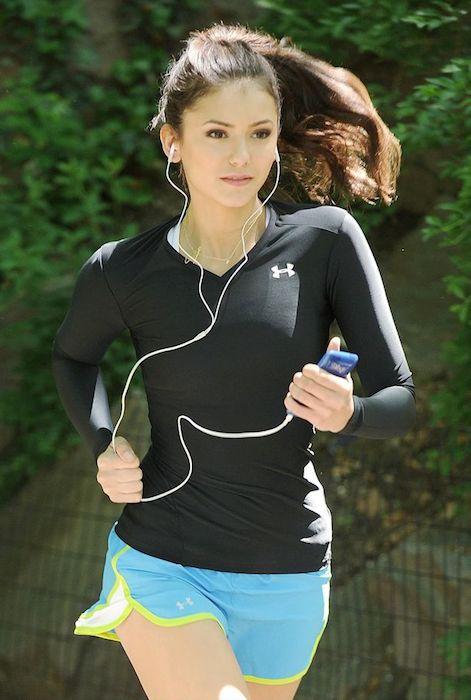 Nina DobrevWorkout and Diet